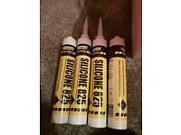 Silicone 825 x 4 tubes