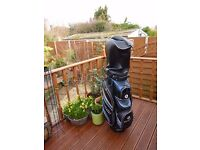 Motor caddy golf bag