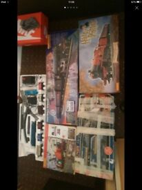 5 X Hornby train sets