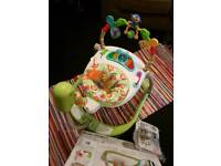 Fisher price. rainforest friends spacesaver jumperoo