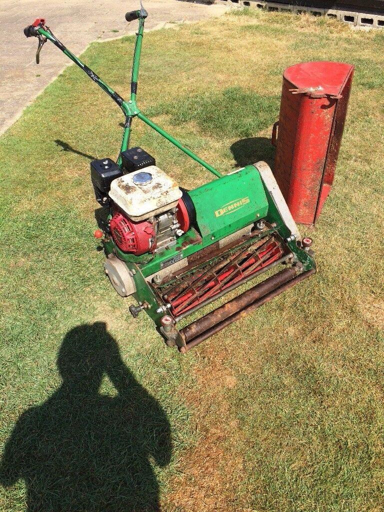 Lawnmower dennis ft610 24inch cut Honda gx160 5.5 petrol engine and  intruction manual