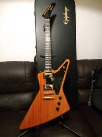 Epiphone Explorer guitar+Epi HC