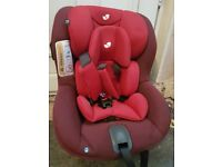 Joie i anchor car seat red. Needs base