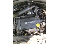 Vauxhall Corsa 1.4 Sri Sxi z14xep ENGINE