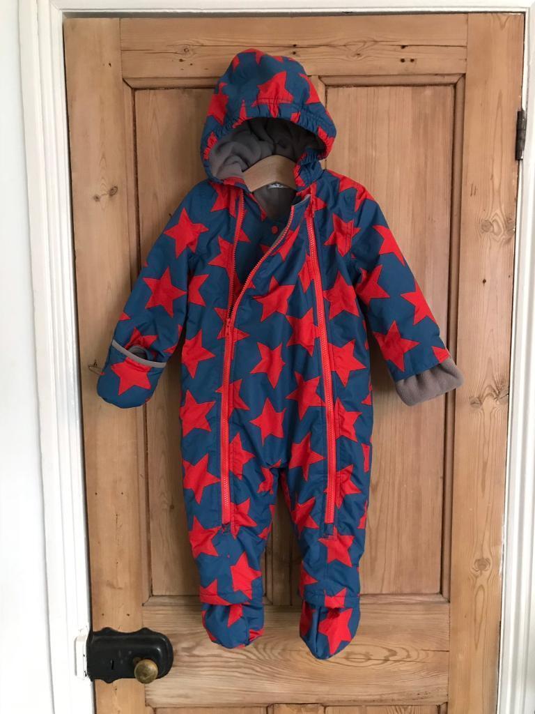 50ded9bda Mini Boden star print unisex snowsuit age 18-24m | in Hove, East ...