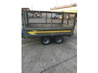 Bateson Tipper trailer 8 x 5 with high mesh sides