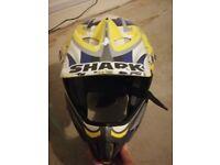 Men's motorbike helmet