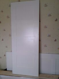 New white internal doors