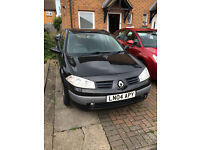 SUPERB 2004 RENALT MEGANE 5 DOOR HATCHBACK, ALLOYS, NEW CAMBELT, LONG MOT CHEAP TAX