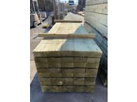 🌳 Tanalised Wooden/ Timber Railway Garden Sleepers ~ New ~ 195x95x3m