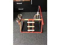 Parrot Cage £40 Tabletop Stand £10