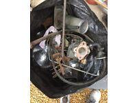 Landrover series parts fuel cap carburettor indicator sealed bulbs.