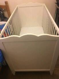 Ikea cot and mattress brand new