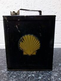 Vintage Shell Petrol Can very good condition