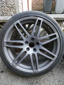 ORIGINAL AUDI TT SPOKED ALLOYS 19""