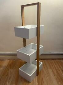 3 tier caddy unit for bedroom/bathroom