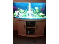 JUWEL VISION 260 FISH TANK AND STAND AS NEW!!