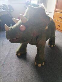 Kota play school ride on dinosaur