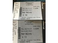 2 x Alison Moyet concert tickets for this Thursday 23 Nov 2017 at Colston Hall