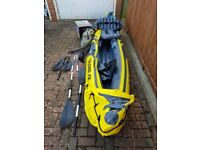 Intex 2 person kayak