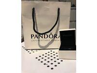 Pandora gift bag and small box