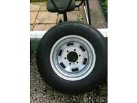 Two Tires with rims for Iveco