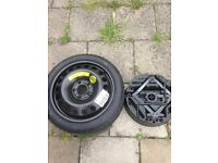 Vauxhall Vectra Astra Meriva Spare Wheel Jack Pack