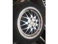 15 inch 4x108 ford deep dish alloys £100