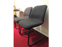FOUR QUALITY OFFICE CHAIRS - £25 EACH