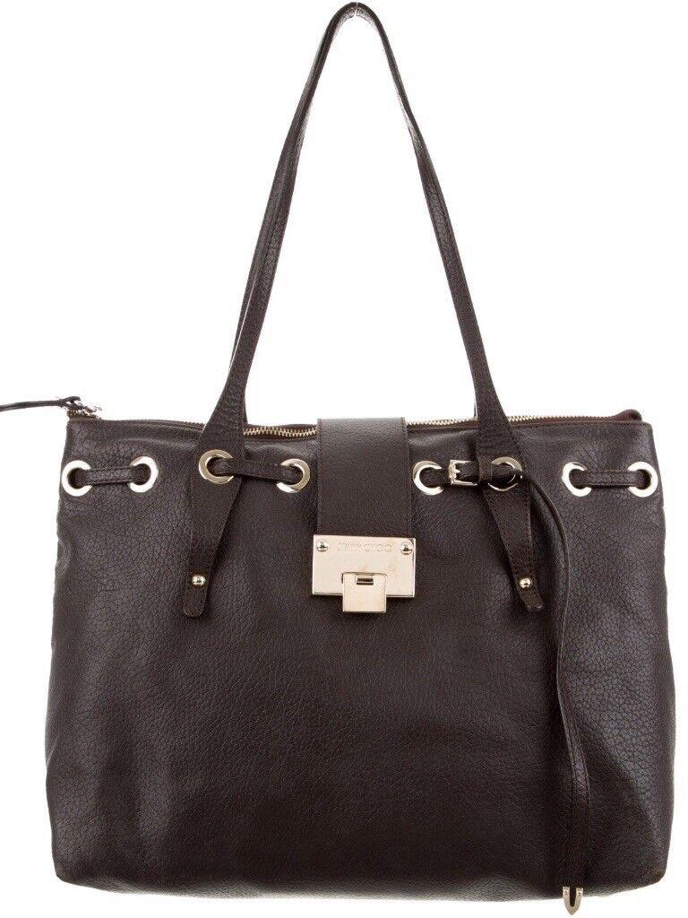 Designer Handbag Authentic Jimmy Choo Rosalie Shoulder Bag Authenticity Card And Dust