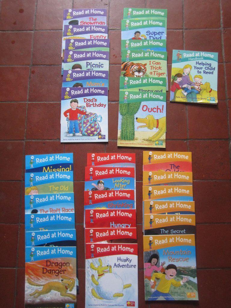 Workbooks oxford reading tree workbooks : Oxford Reading Tree - Read at Home bundle - 30 books levels 1-5 ...