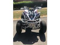YAMAHA RAPTOR ROAD LEGAL QUAD BIKE 250cc ATV