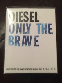 Diesel Only The Brave 35ml Mens Eau De Toilette Brand New