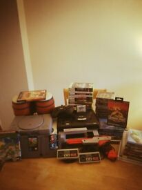 Retro games and consoles