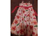 Girls dress size 7 to 8 ex condition