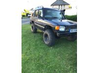 "Landrover discovery 300tdi off roader 1998 r 6"" lift kit modulars dislocation cones shooting hatch"