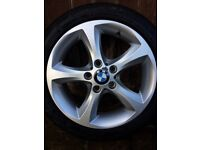 "BMW 17"" Alloys with Good Year Tyres"
