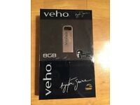 Brand new Ayrton Senna veho 8gb signature collection- Alloy USB Memory stick/pen drive