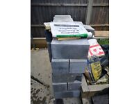 Unused 7N Blocks (45pcs) and Concrete Lintel (2pcs)