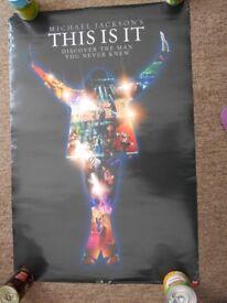 Free Michael Jackson Poster