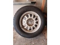BMW E36 Alloy Wheel 15' Brand New Tyre 225/60R15