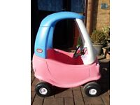 Little Tikes Cozy Coupe - Pink - Good Condition