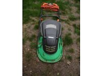Electric hover lawnmower, compact, working order