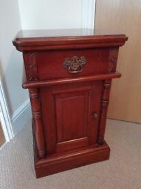 Antique Bedside Cupboard / Bedside Table - Bedroom Furniture - Collection only