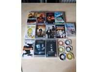 Psp games and films big bundle 26