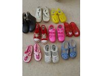 Girls children's shoes size 8 and 9