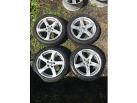 "17"" Genuine Audi Alloy wheels. 17 inch"
