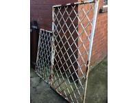 Steel metal security window