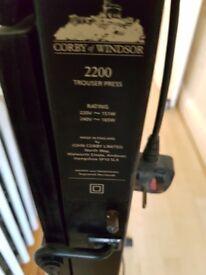 Corby 2200 trouser press