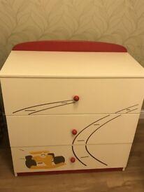 Meblik Racing Car Bedroom Furniture